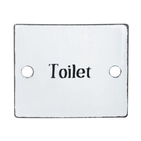 toiletskilt retro