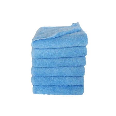 Lækkert badehåndklæde, ensfarvet.