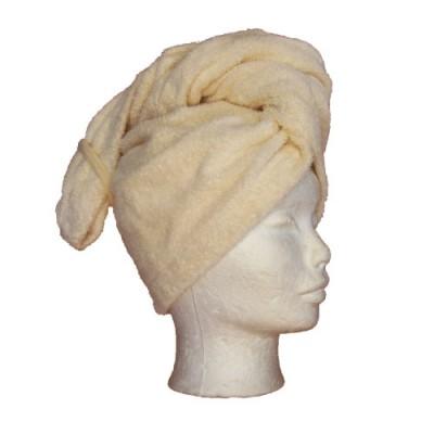 Hårturban - hair towel, lækkert og blødt frotté.