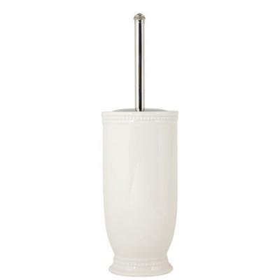 Dekorativ porcelæn toiletbørsteholder - fri fragt.