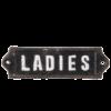 toiletskilt ladies