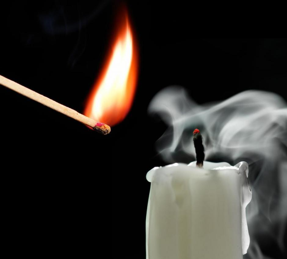 stearinlys og overgangsalderen