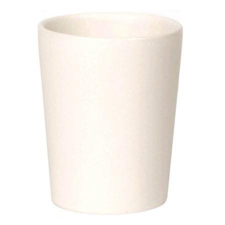 tandkrus, hvid keramik