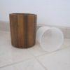 toiletbørste med PU indsats