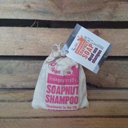 Økologisk shampoobar, Dead Sea. Også til kroppen. Skæl og kløende hovedbund.