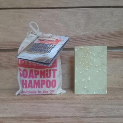 Økologisk-shampoobar-kokos-også-til-kroppen. Altid fragtfri levering.
