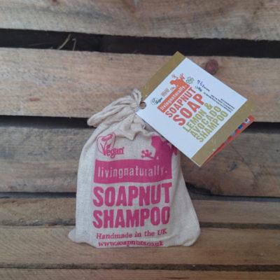 økologisk shampoobar, lemon og avokado. Uden plastikemballage