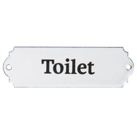 Toiletskilt, retro