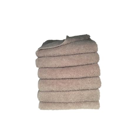 håndklæde, ensfarvet, gammelrosa