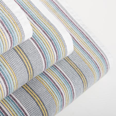 Multifarvet håndklæde